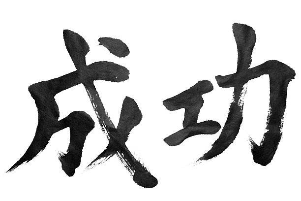 success - calligraphy stock photos and pictures