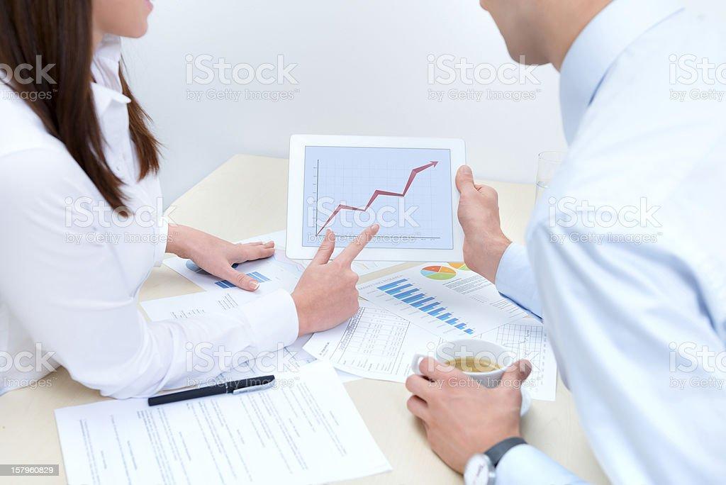 Success sales royalty-free stock photo