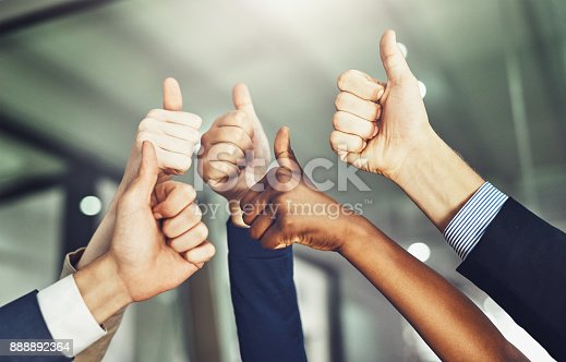 istock Success should be shared 888892364