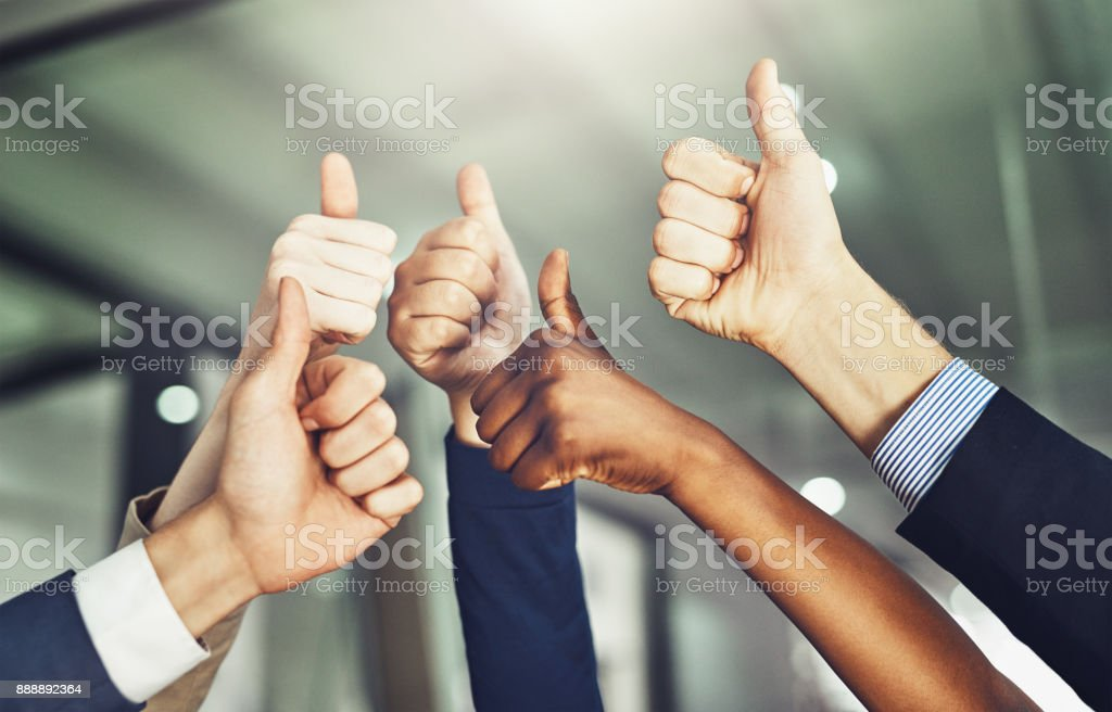 Success should be shared stock photo