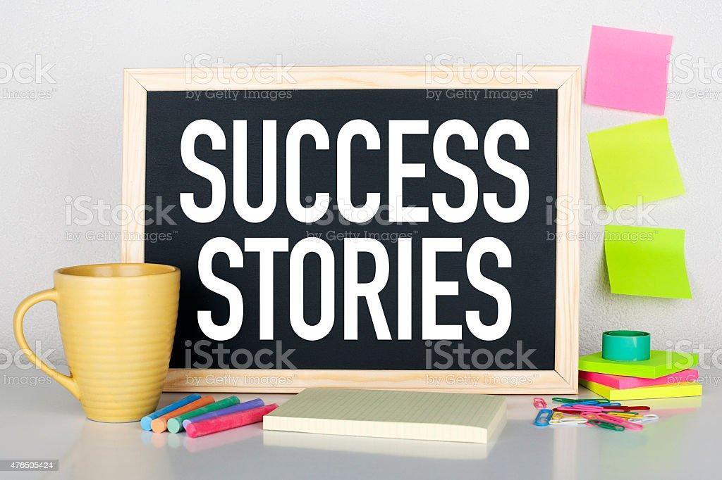 Success Stories stock photo