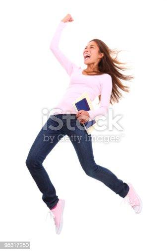 istock Success student woman 95317250