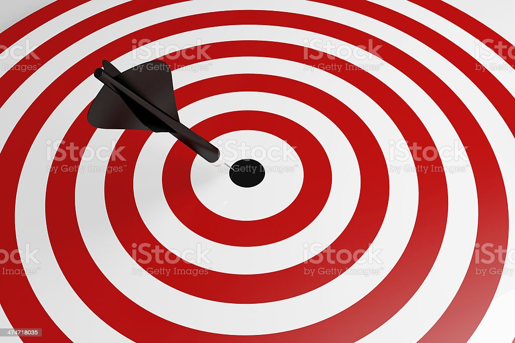 Success Target royalty-free stock photo