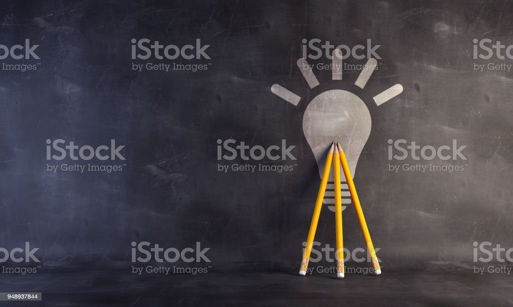 Success - Teamwork Concept With Pencils. stock photo
