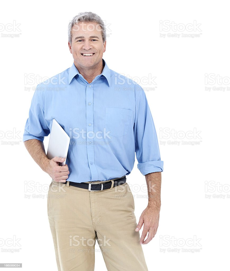 Successful and experienced stock photo