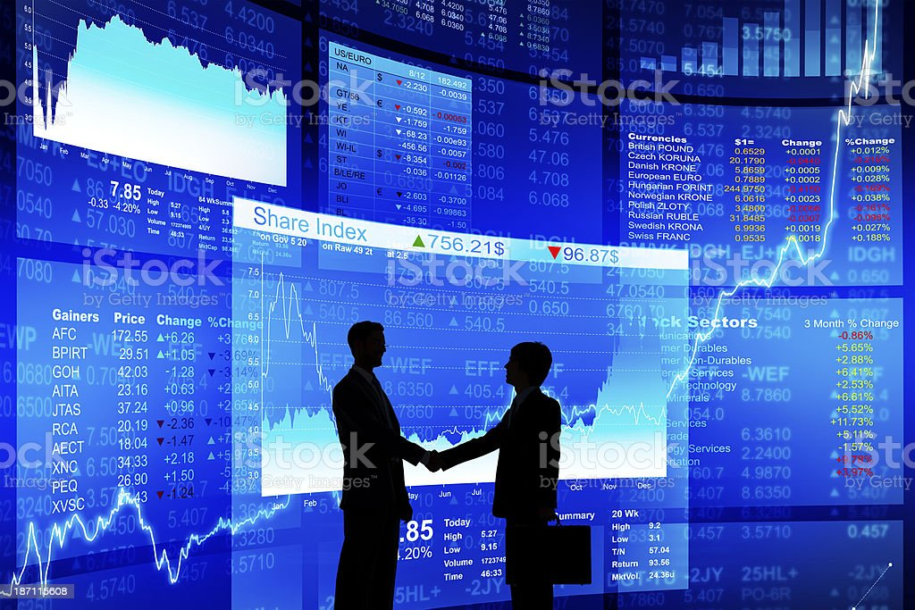 Successful Business Agreement royalty-free stock photo