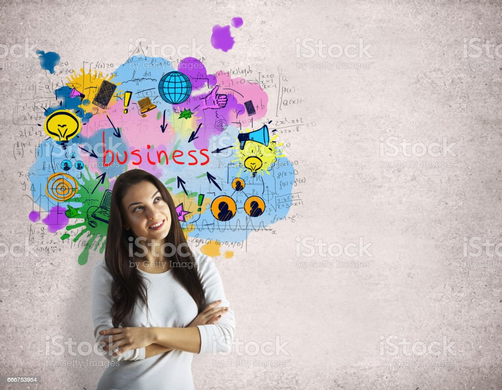 Successful business concept foto stock royalty-free