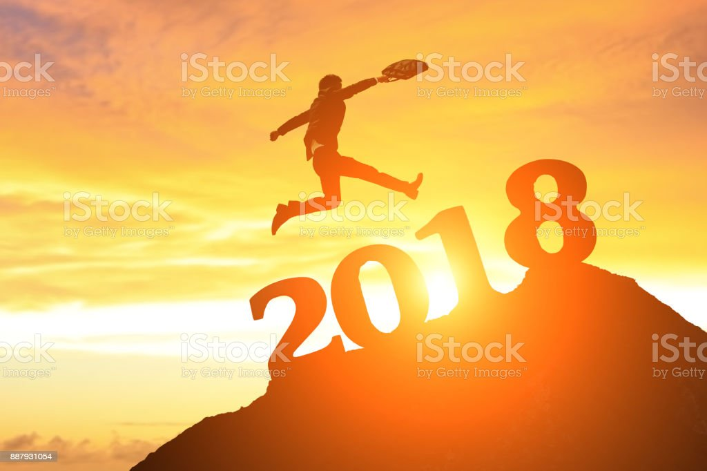successful business in 2018 stock photo