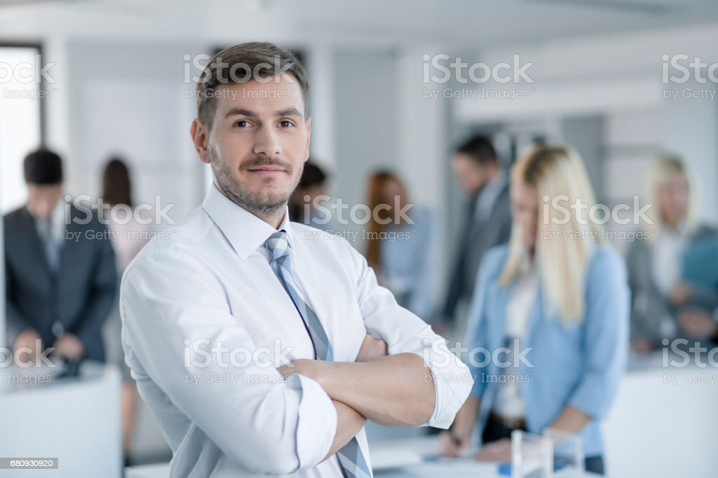 Successful Business Man royalty-free stock photo