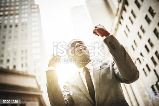 istock Successful business man with thumbs up 520042391