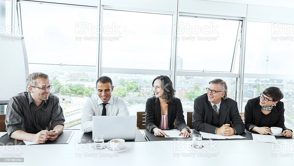 Successful business meeting. royalty-free stock photo