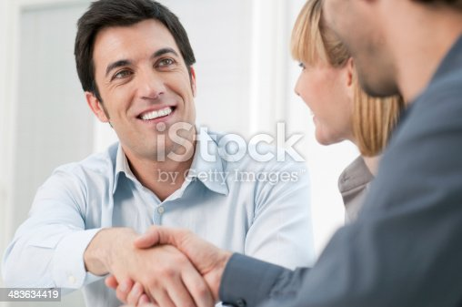 istock Successful business meeting 483634419