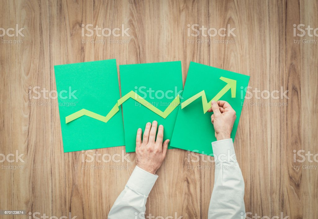 Successful business stock photo