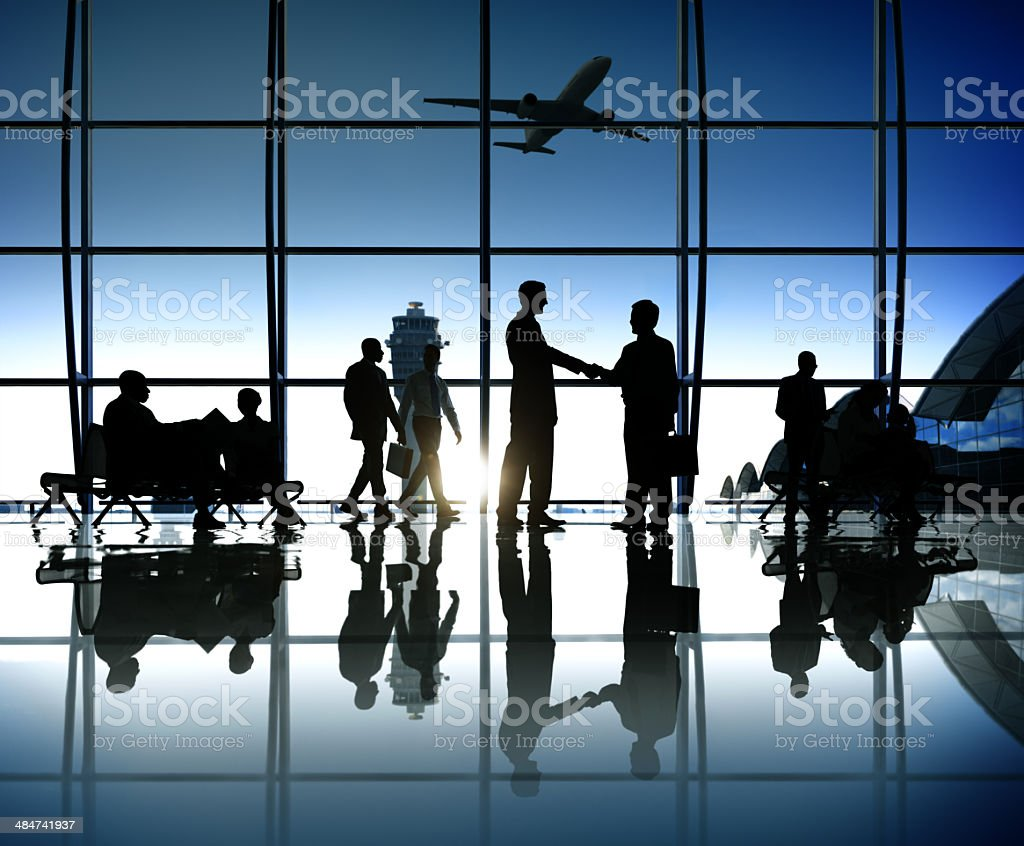 Successful Business takes Off stock photo