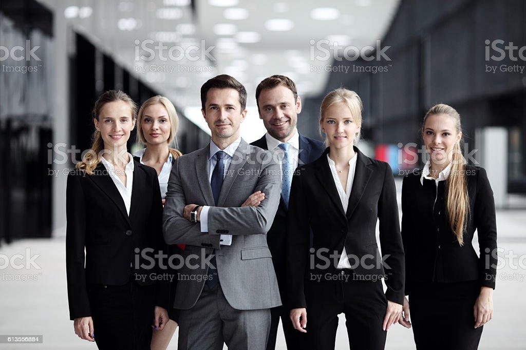 Erfolgreichen business-team  – Foto