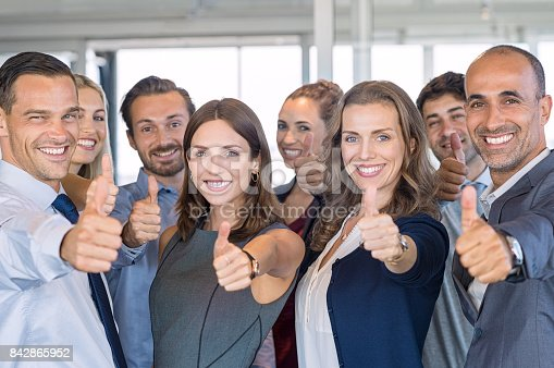 istock Successful business team 842865952