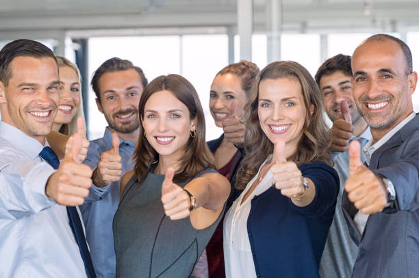 successful business team - thumb stock photos and pictures