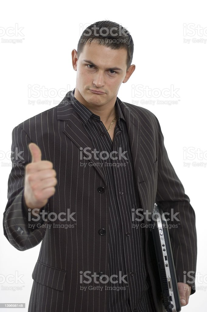 Successful business world royalty-free stock photo