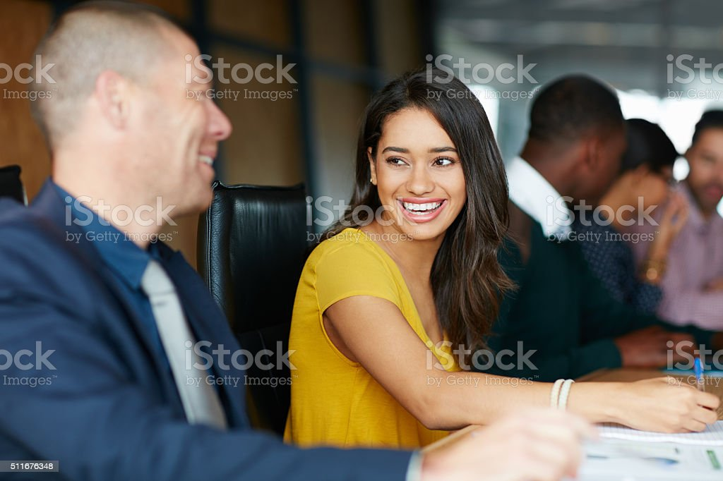 Successful businesses requires one thing: Passion stock photo