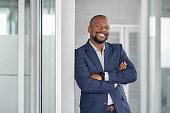 istock Successful businessman in modern office 1189302146