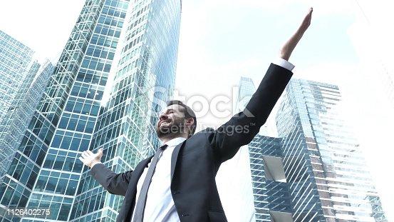 istock Successful Businessman 1126402275