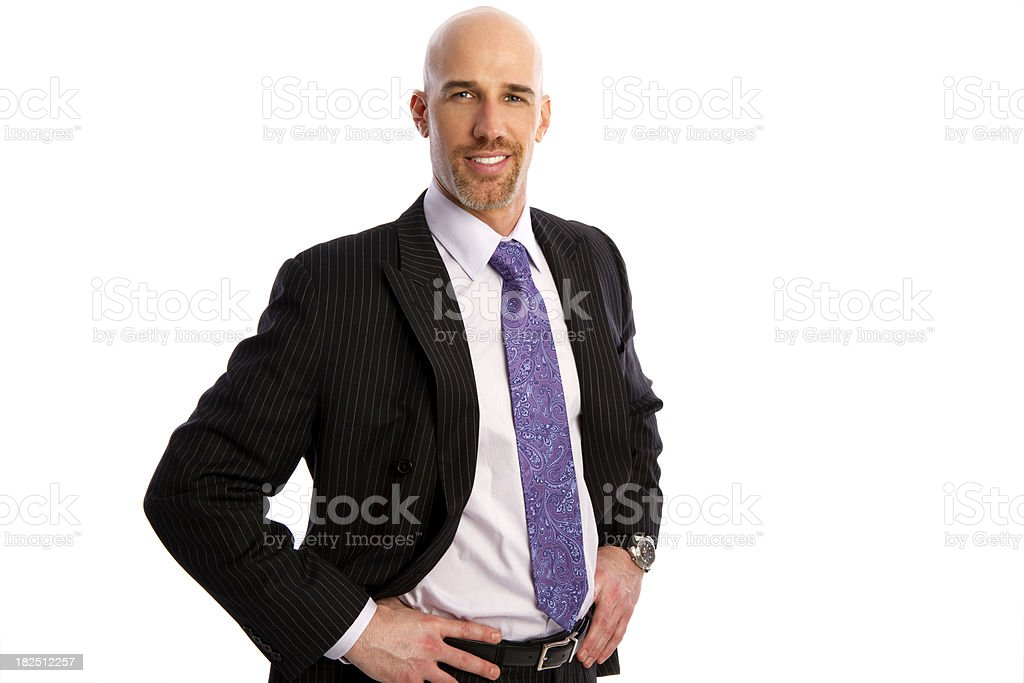 Successful Businessman royalty-free stock photo