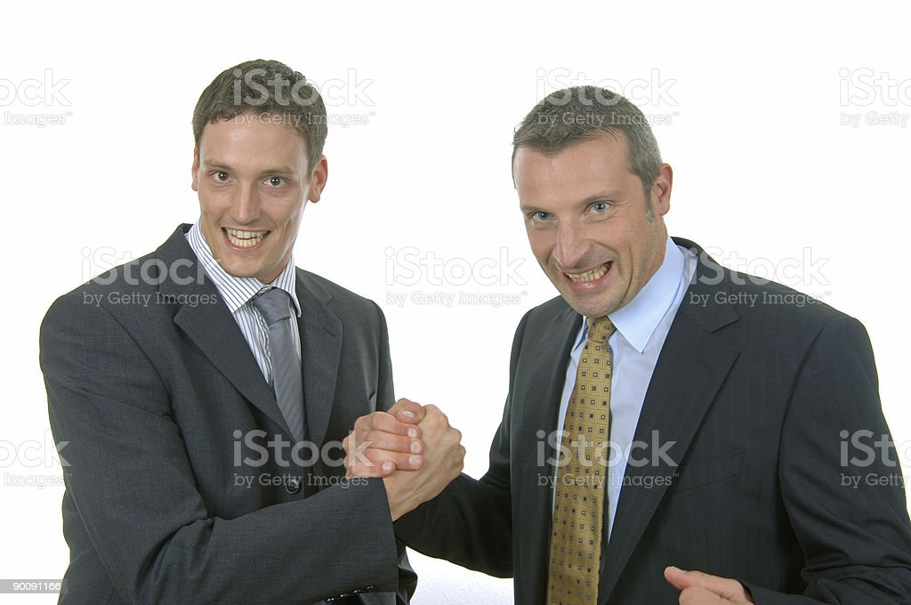 successful businessmen royalty-free stock photo