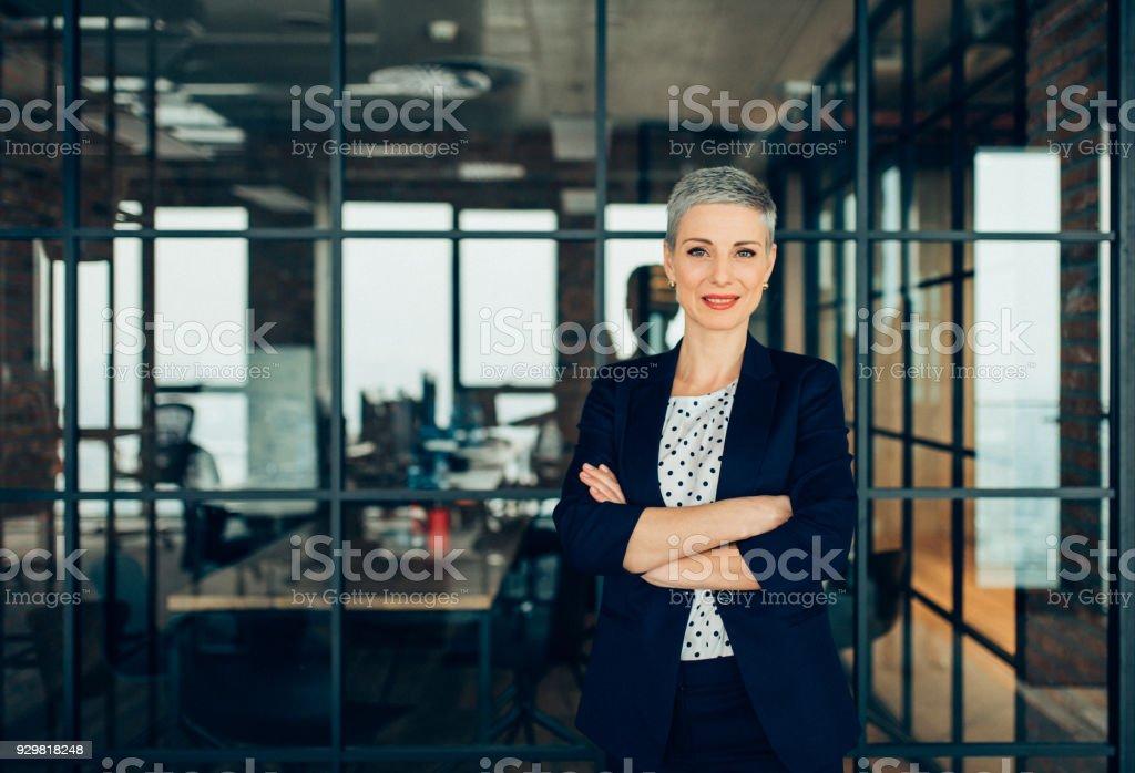 Successful Businesswoman stock photo