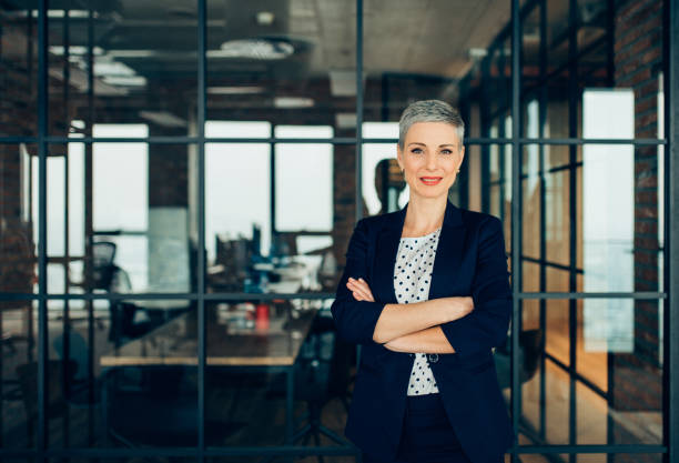 Successful Businesswoman stock photo