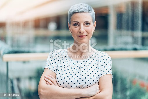 istock Successful businesswoman 931990346
