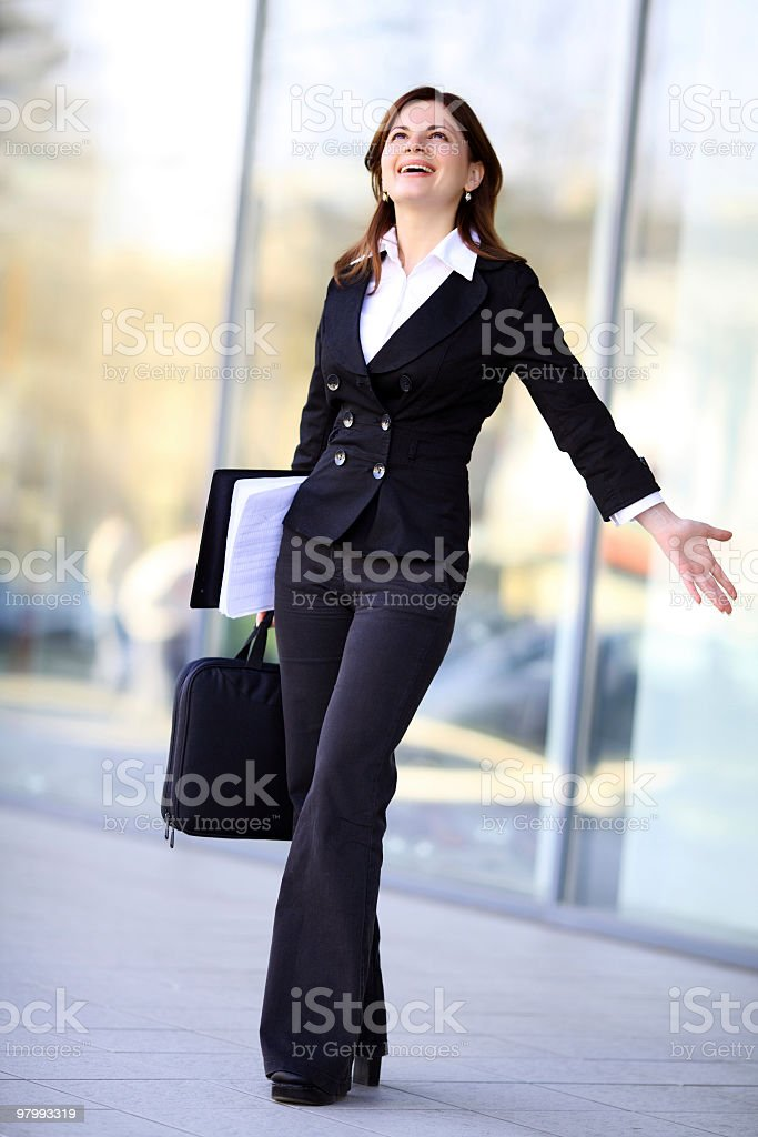 Successful businesswoman. royalty free stockfoto