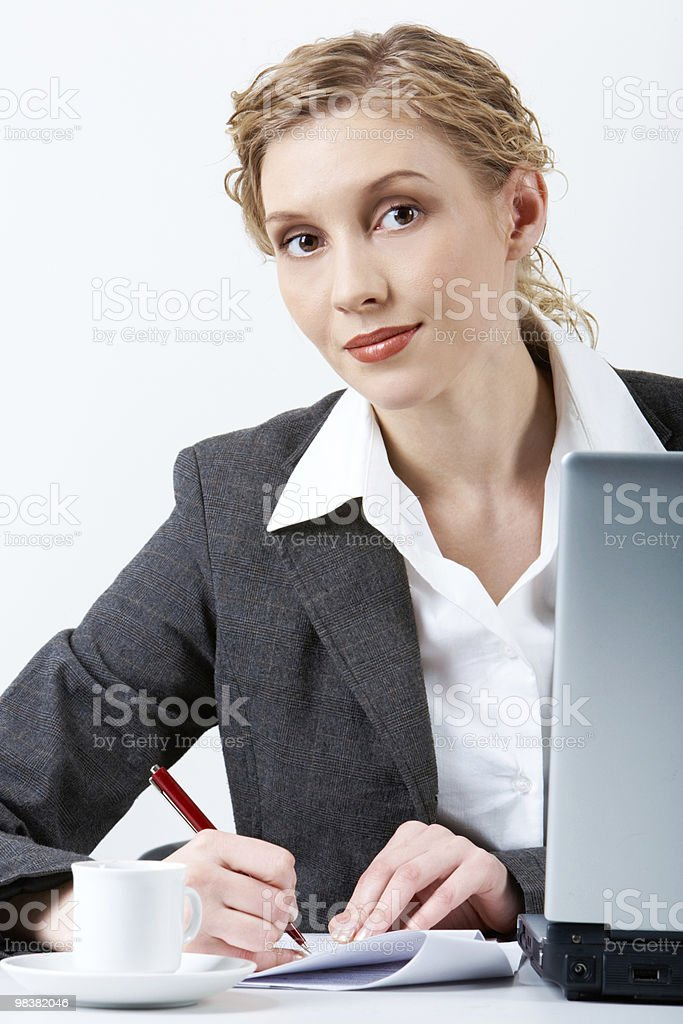 Successful businesswoman royalty-free stock photo