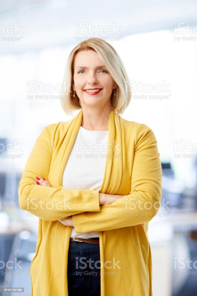 portrait de femme d'affaires réussie - Photo