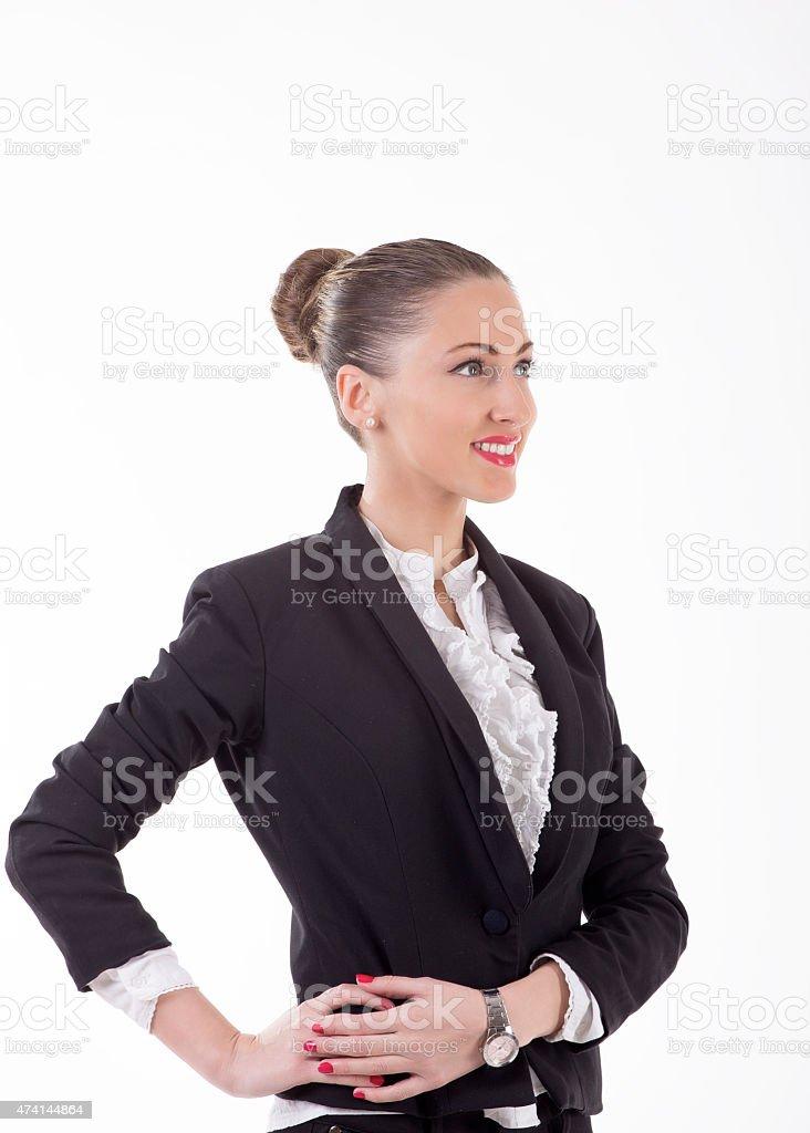 Successful bussineswoman stock photo