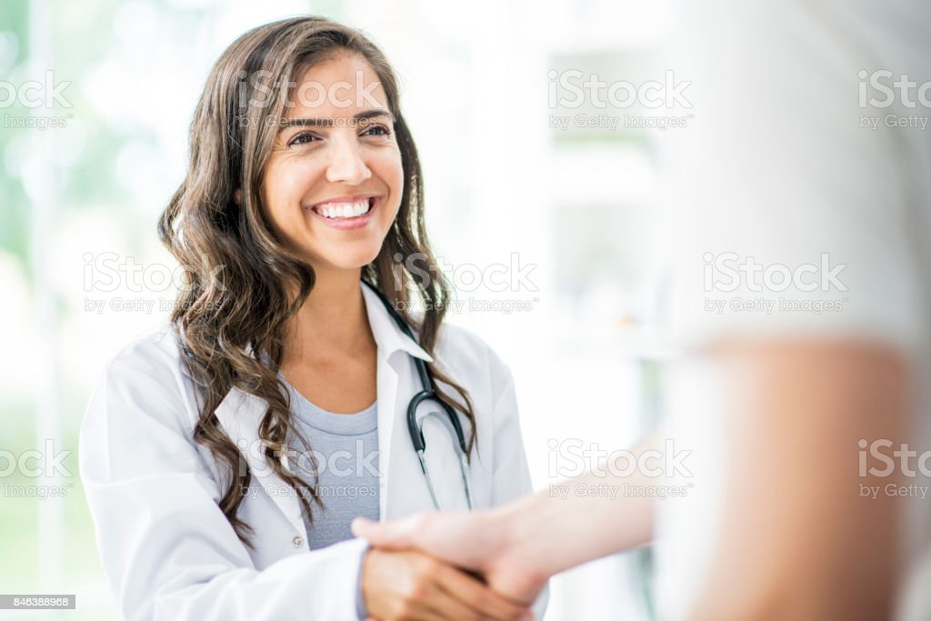 Successful Checkup stock photo