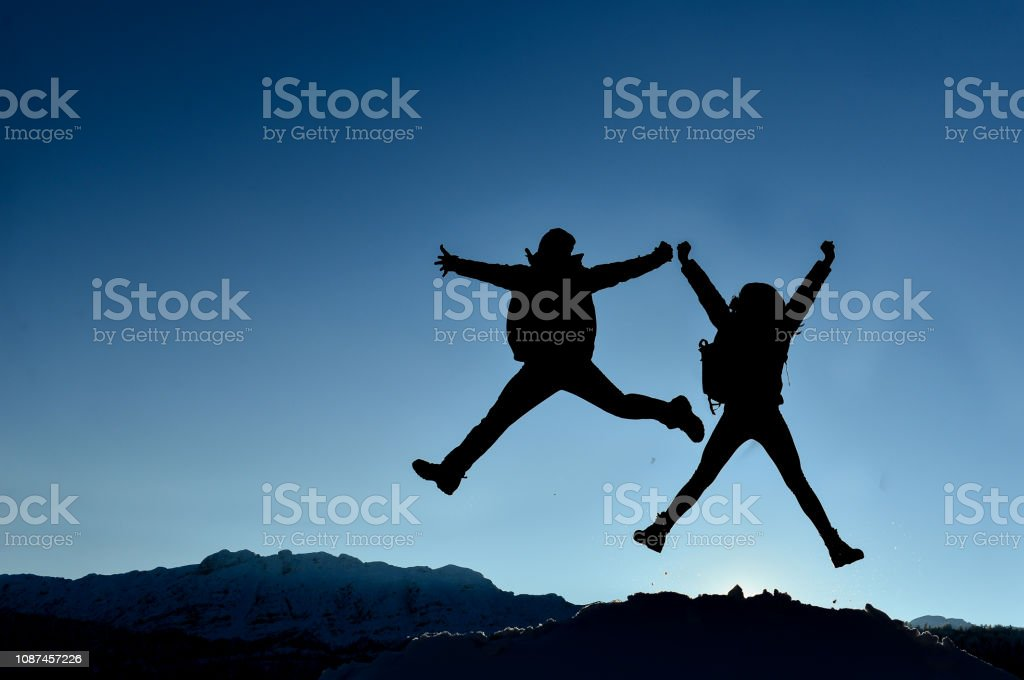 successful couple happy times stock photo