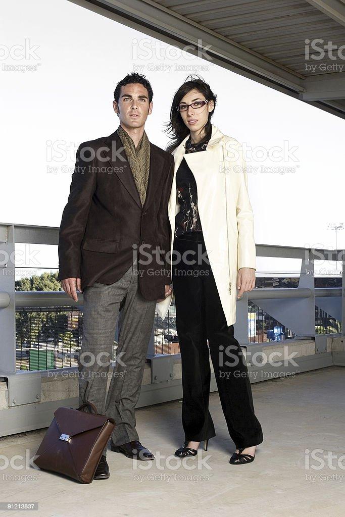 Successful Couple stock photo