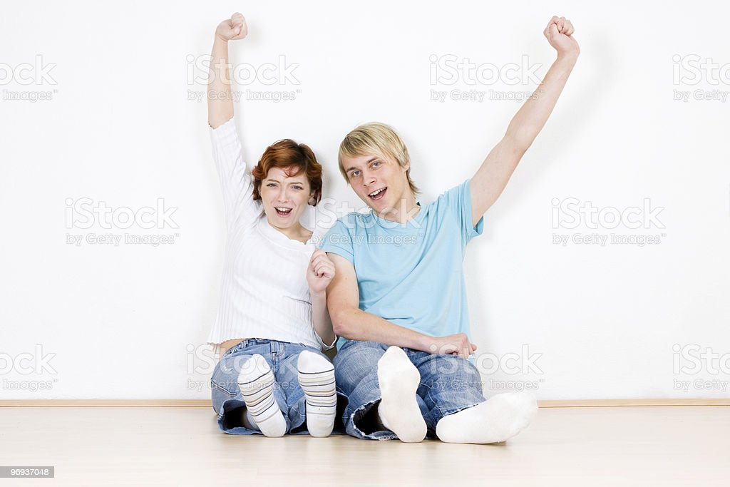 Successful Couple royalty-free stock photo