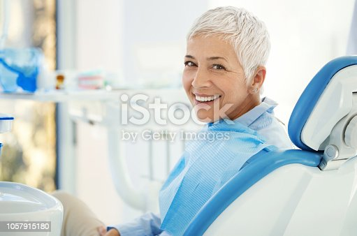 istock Successful dentist appointment. 1057915180