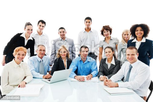 669854210 istock photo Successful diversity people on a meeting. 175445495