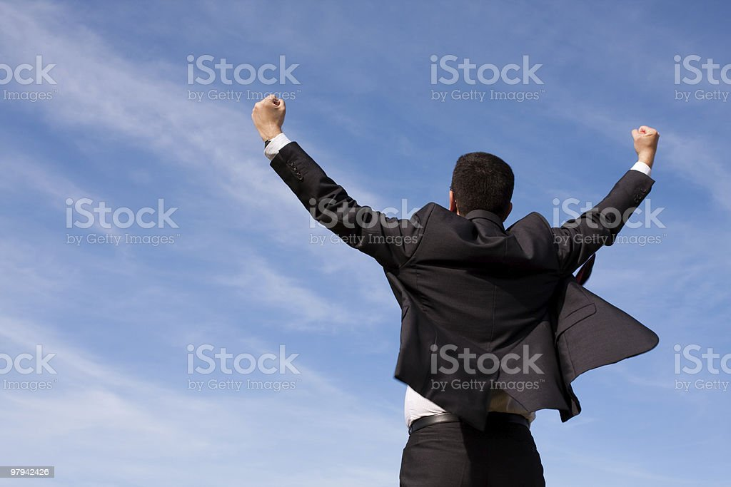 Successful ecological business royalty-free stock photo