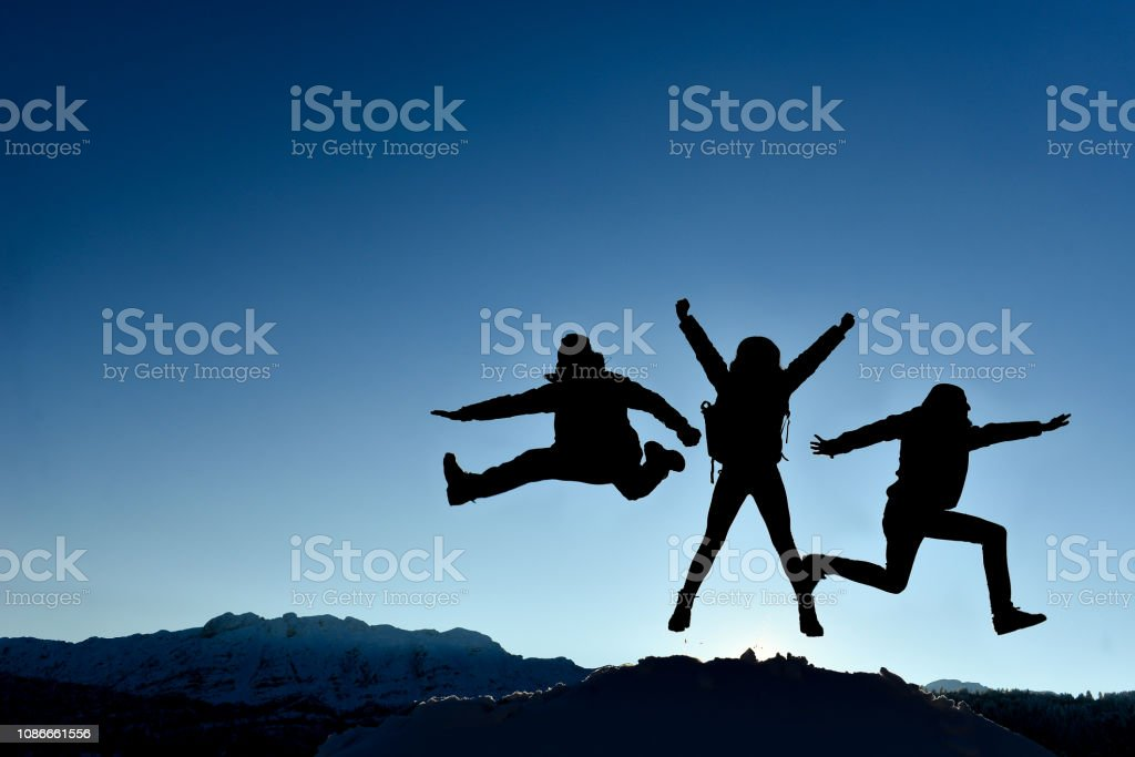 successful, enthusiastic, dynamic and energetic team stock photo