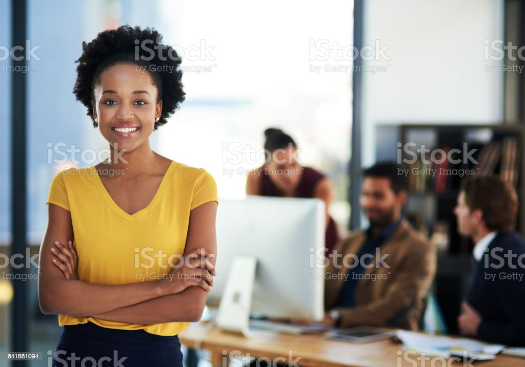Successful entrepreneurs have a strong inner drive stock photo