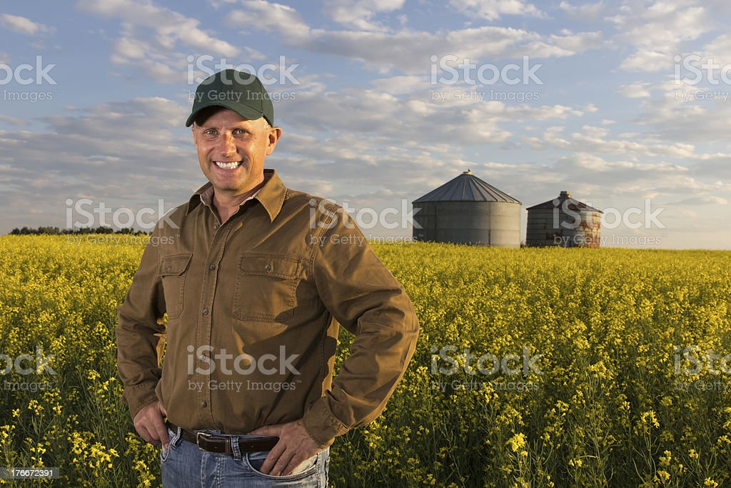 Successful Farmer royalty-free stock photo