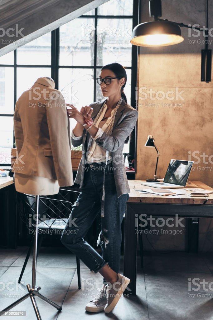 Succès de styliste. - Photo