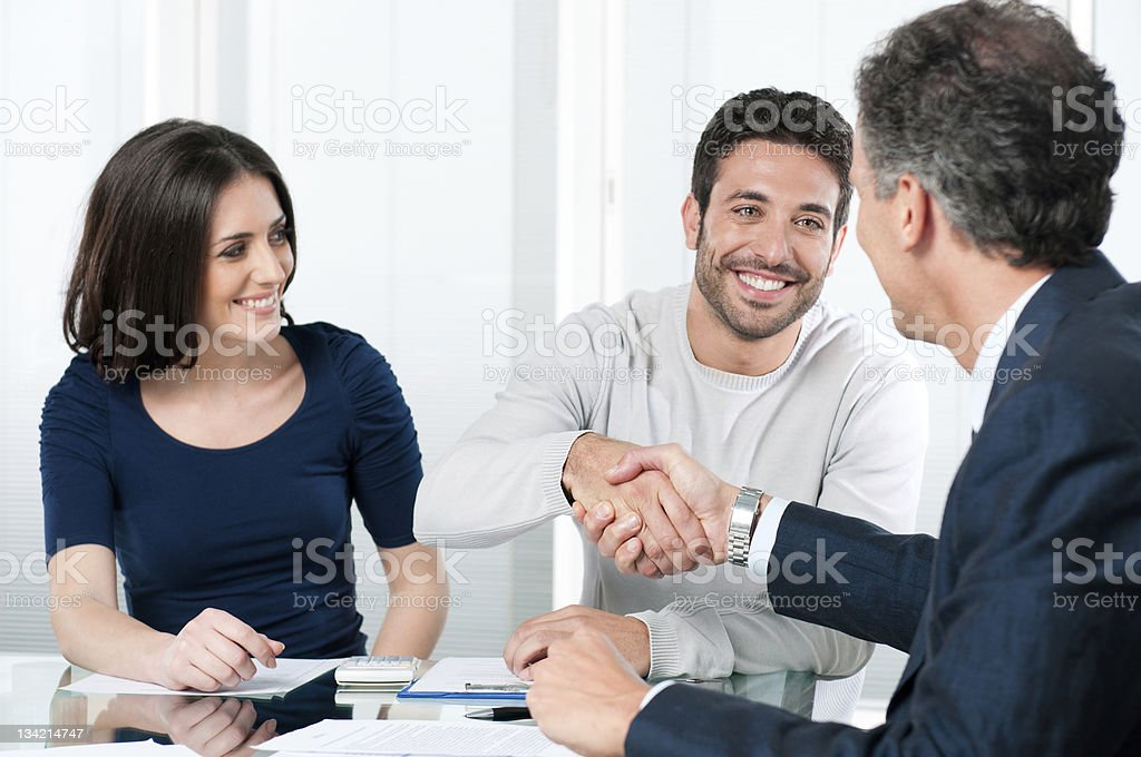 Successful financial plans stock photo
