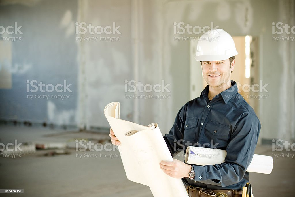 Successful foreman royalty-free stock photo