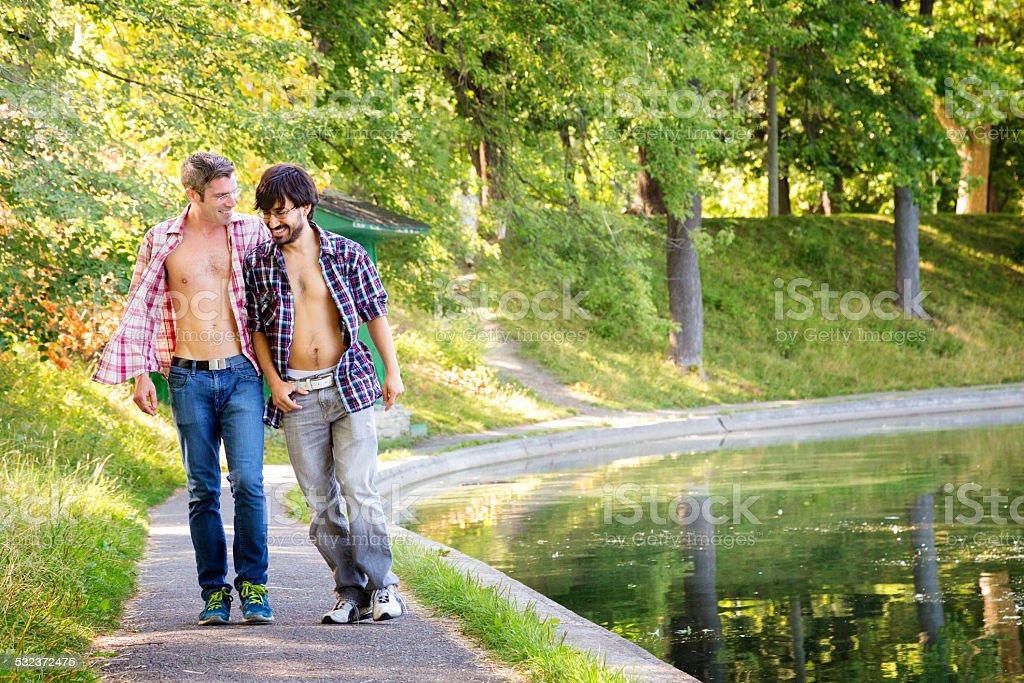 Gay public hookup