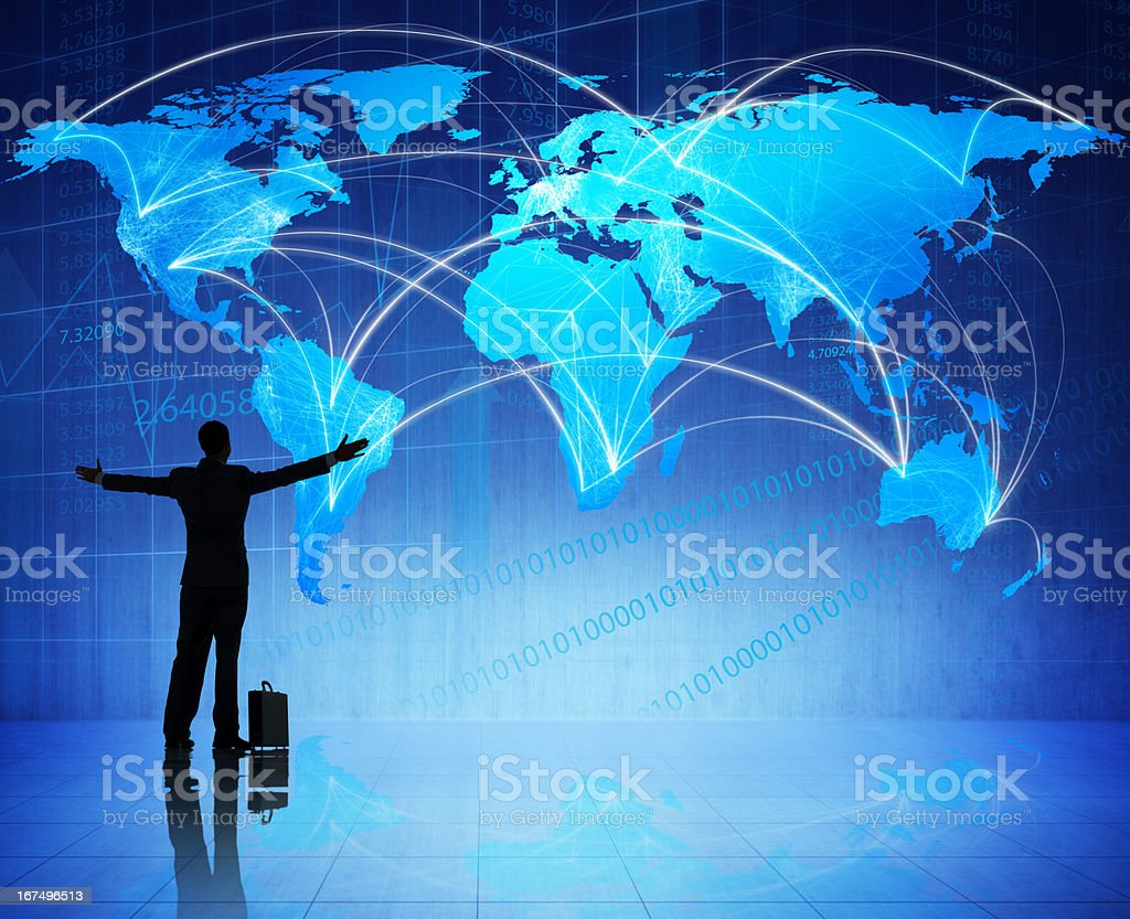 Successful global business royalty-free stock photo