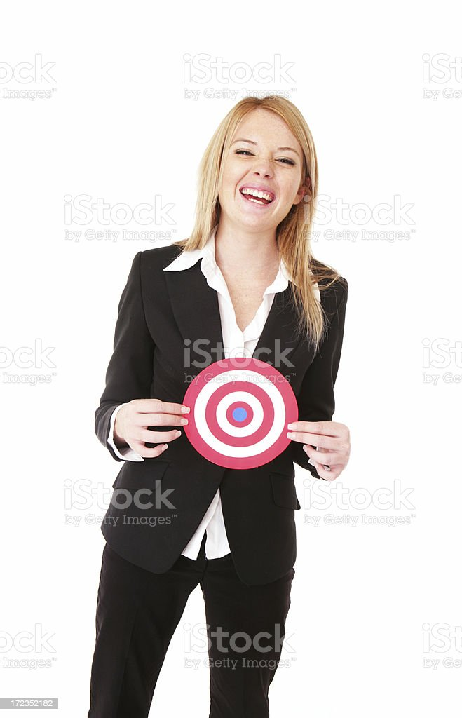 Successful Goal royalty-free stock photo